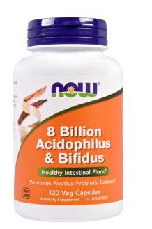 Now Foods, アシドフィルス菌 & ビフィズス菌 80億、ベジタリアンカプセル 120 錠 - iHerb.com 2017-09-02 01-22-42